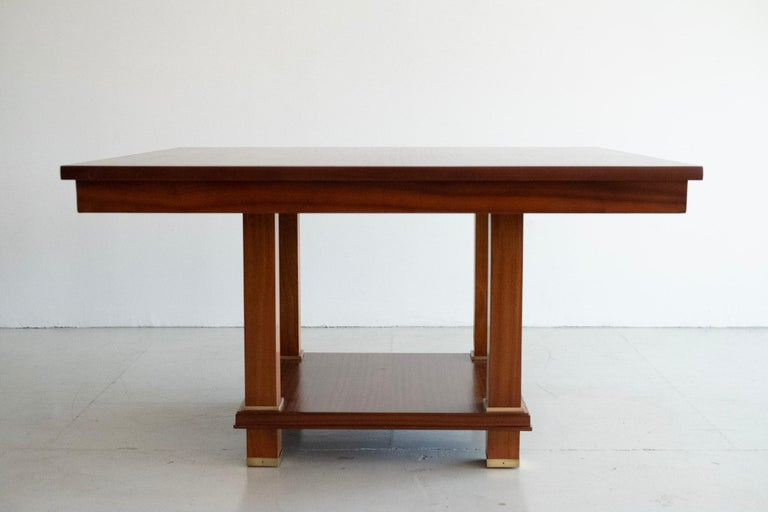 French Jacques Adnet Table For Sale