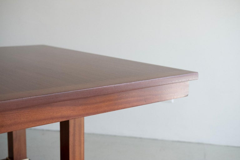 Jacques Adnet Table In Good Condition For Sale In Los Angeles, CA