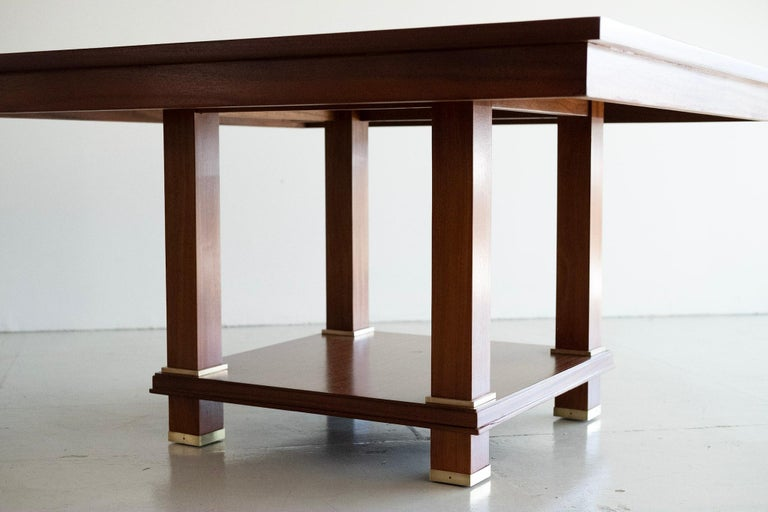 Mid-20th Century Jacques Adnet Table For Sale