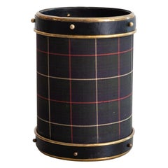 Jacques Adnet Trash Can