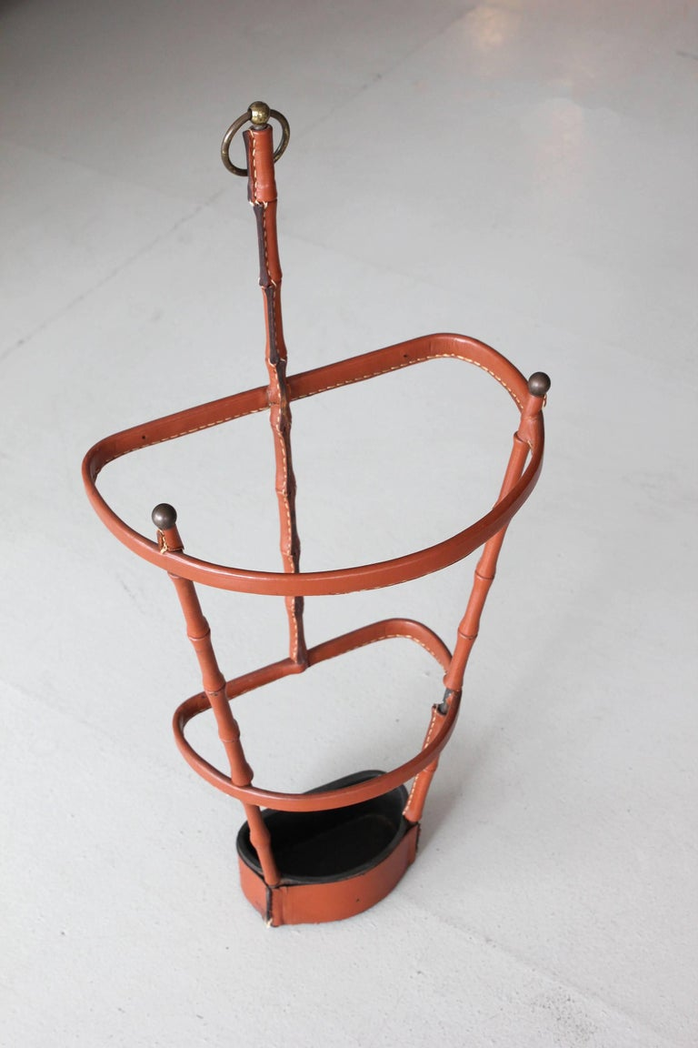 Jacques Adnet Umbrella Stand For Sale 4