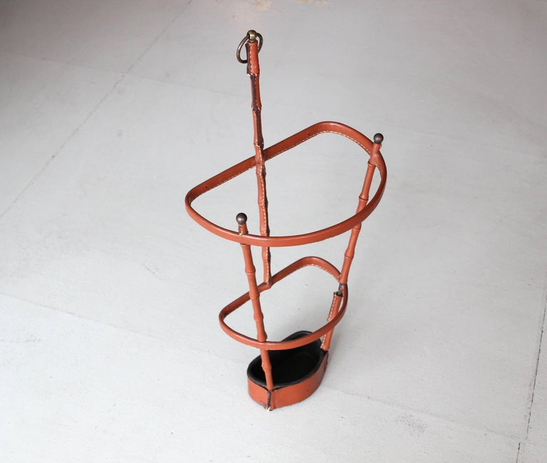 Jacques Adnet Umbrella Stand For Sale 1