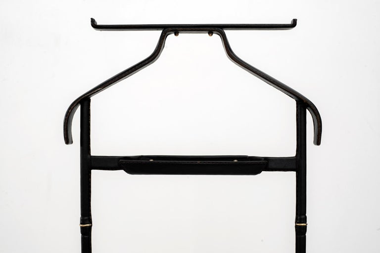 Jacques Adnet Valet In Good Condition For Sale In Los Angeles, CA
