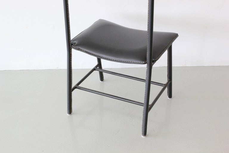 Mid-20th Century Jacques Adnet Valet For Sale