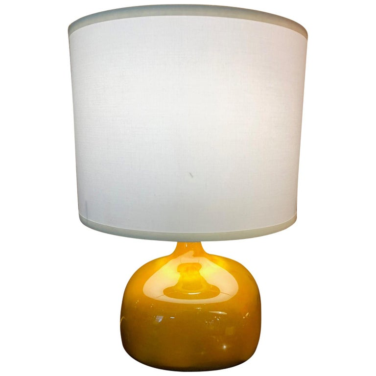 Jacques and Dani Ruelland French Ceramic Lamp For Sale