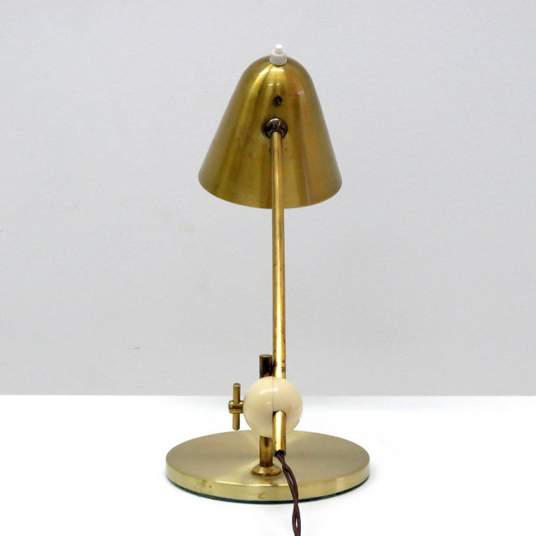 Mid-20th Century Jacques Biny Table Lamp, 1950 For Sale