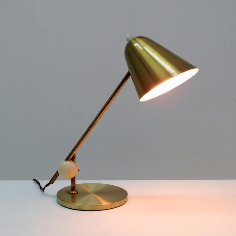 Jacques Biny Table Lamp, 1950 For Sale 2
