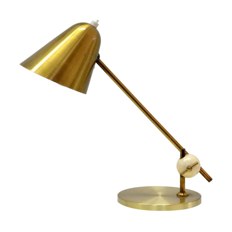 Jacques Biny Table Lamp, 1950 For Sale