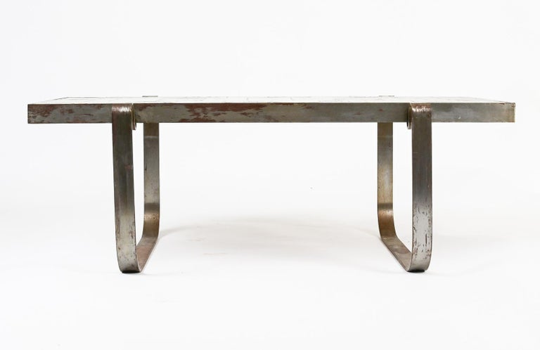 Jacques Blin Ceramic Low Table For Sale 1