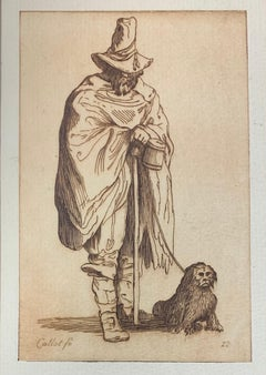 17th Century Etching, Les Gueux Series, #22