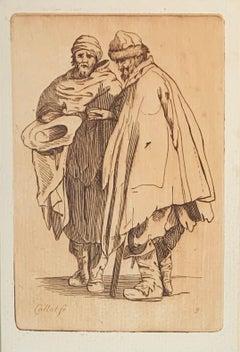 17th Century Renaissance Etching, Les Gueux #9