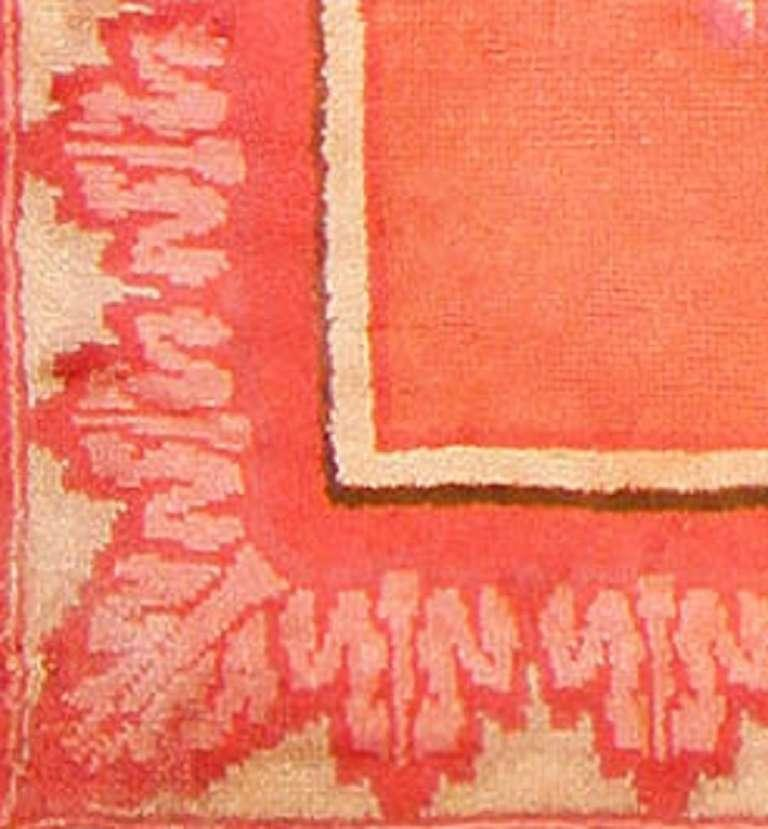20th Century Jacques Emile Ruhlmann Beautiful French Art Deco Rug.  For Sale