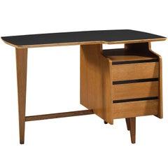 Jacques Hauville Small Oak Writing Desk