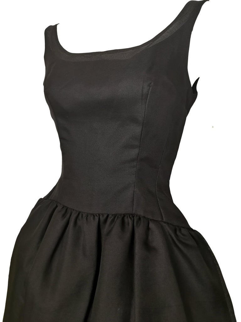 Jacques Heim Silk Gazar Dress Numbered Exclusive to Harrods For Sale 6