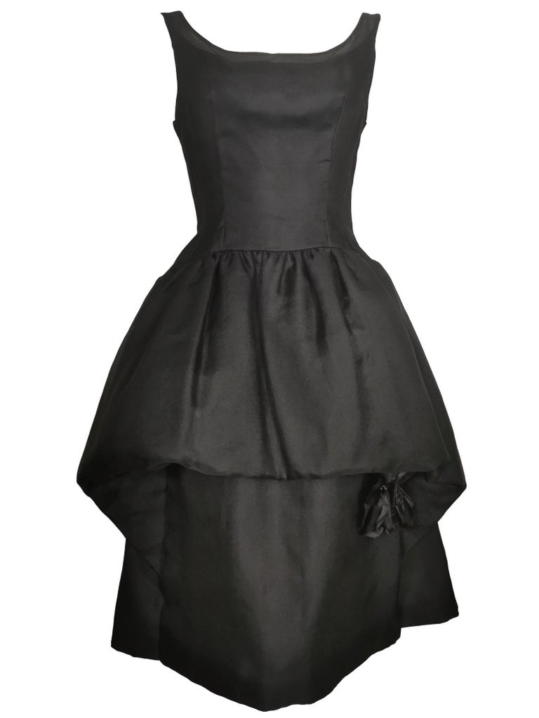 Jacques Heim Silk Gazar Dress Numbered Exclusive to Harrods For Sale 7
