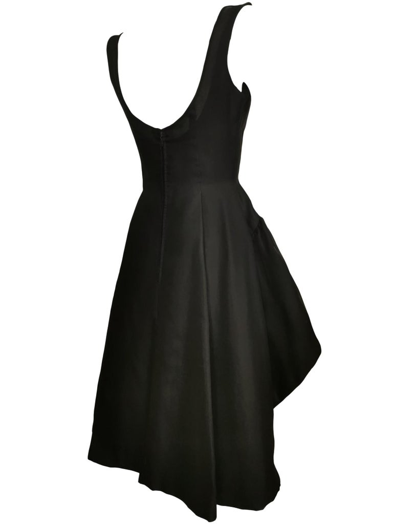 Jacques Heim Silk Gazar Dress Numbered Exclusive to Harrods For Sale 8