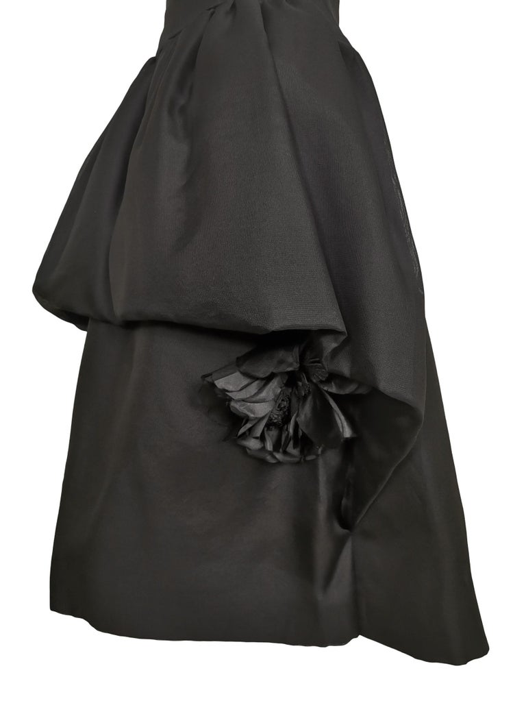 Jacques Heim Numbered Silk Gazar Dress Exclusive to Harrods Excellent Condition 26 inch Waist