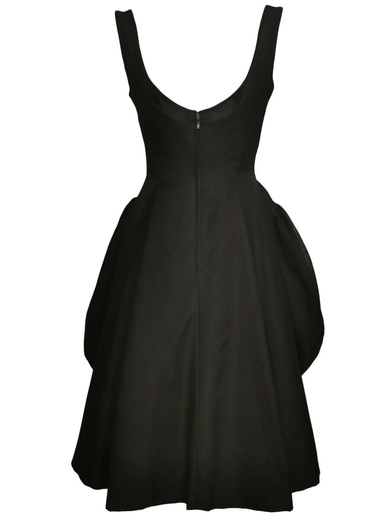 Jacques Heim Silk Gazar Dress Numbered Exclusive to Harrods In Excellent Condition For Sale In Bath, GB