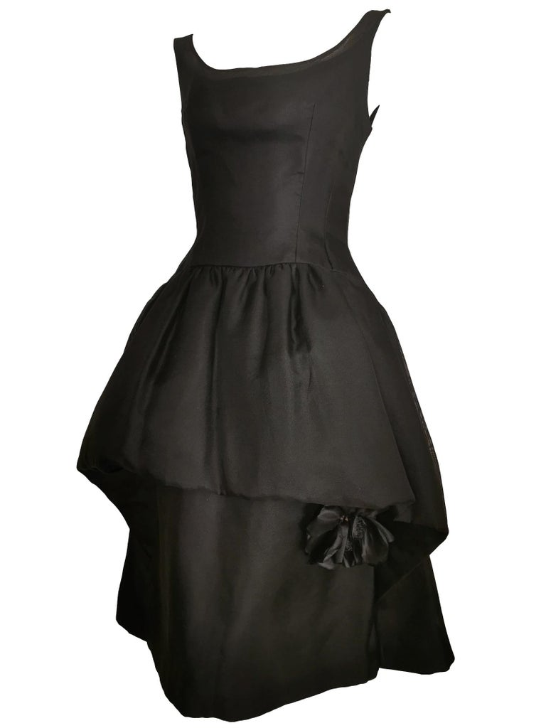 Jacques Heim Silk Gazar Dress Numbered Exclusive to Harrods For Sale 1