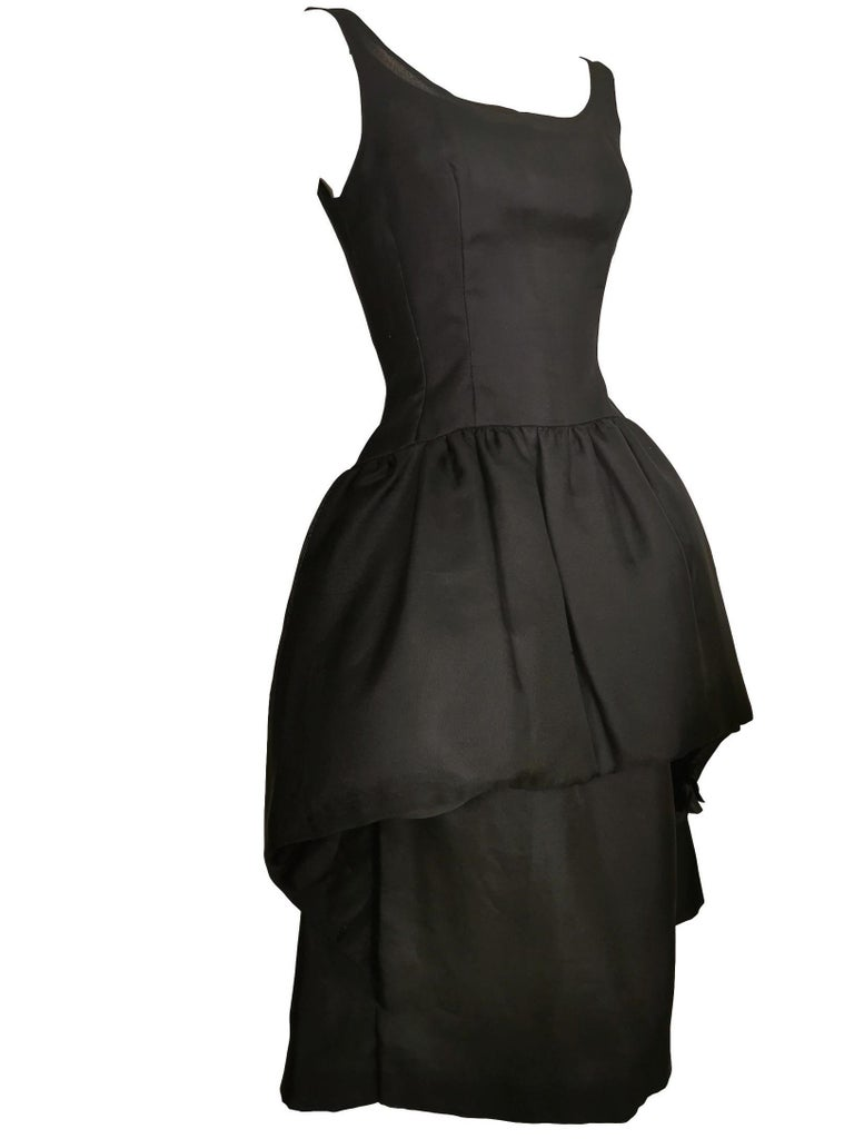 Jacques Heim Silk Gazar Dress Numbered Exclusive to Harrods For Sale 2