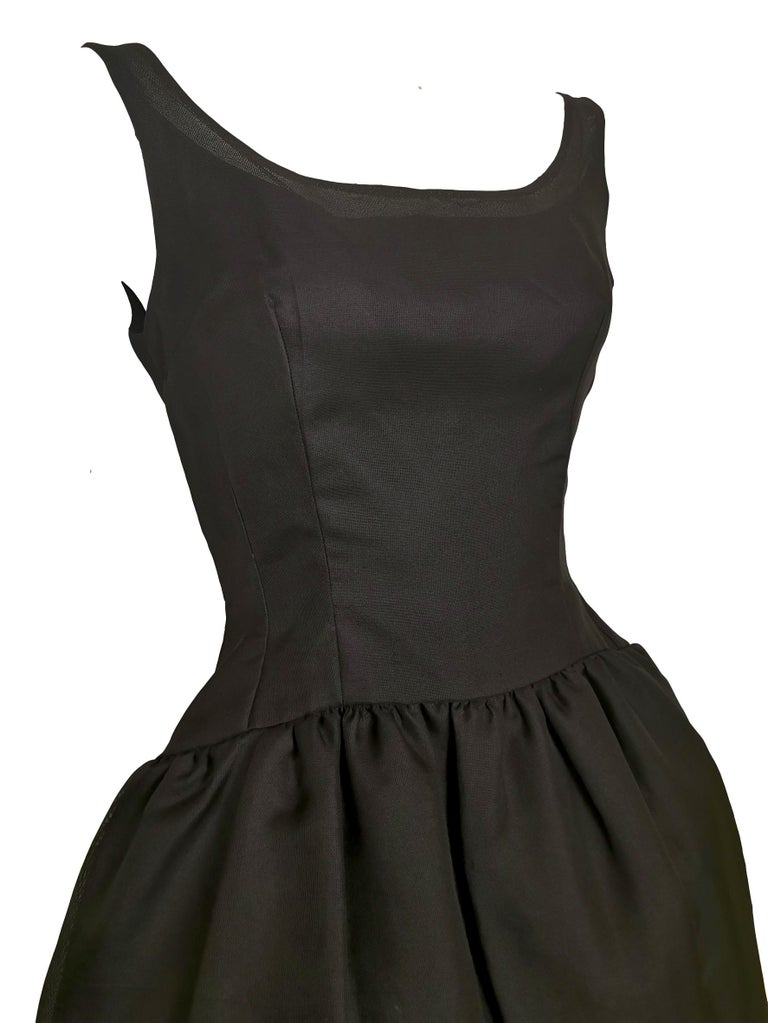 Jacques Heim Silk Gazar Dress Numbered Exclusive to Harrods For Sale 3