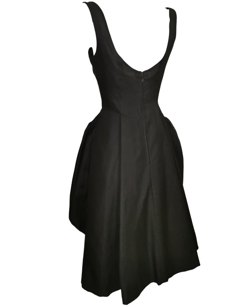 Jacques Heim Silk Gazar Dress Numbered Exclusive to Harrods For Sale 4