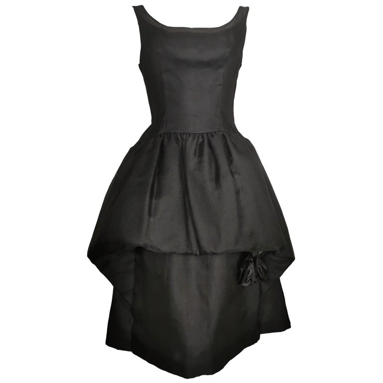 Jacques Heim Silk Gazar Dress Numbered Exclusive to Harrods For Sale