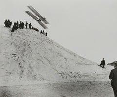 Merlimont. First Flight of Gabriel Voisin in the Archdeacon glider