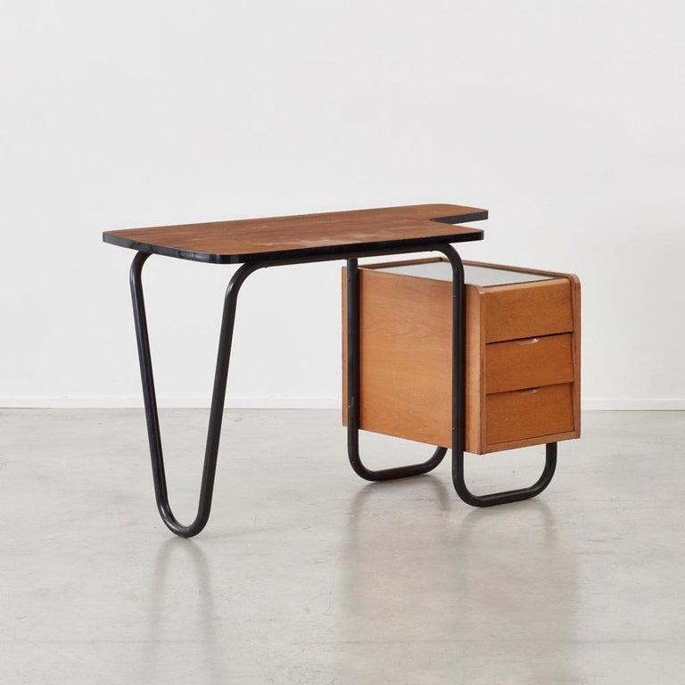 Jacques Hitier (1917–1999) was a French interior architect and designer. He also held the position of Director of the Paris L'École Boulle, School for Fine Arts & Crafts. He is often referred to as one of Frances' prominent figures of the decorative