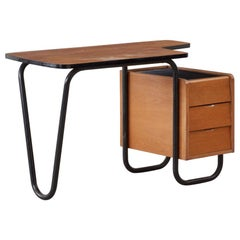 Jacques Hitier Desk for Mobilor, France, circa 1950