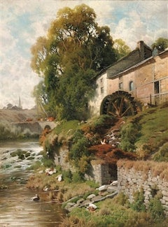 Le Moulin a eau, 1899