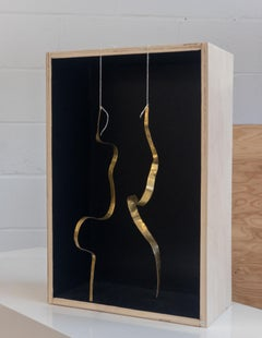 "Jacques Jarrige Sculpture in Brass ""Angel #14"""