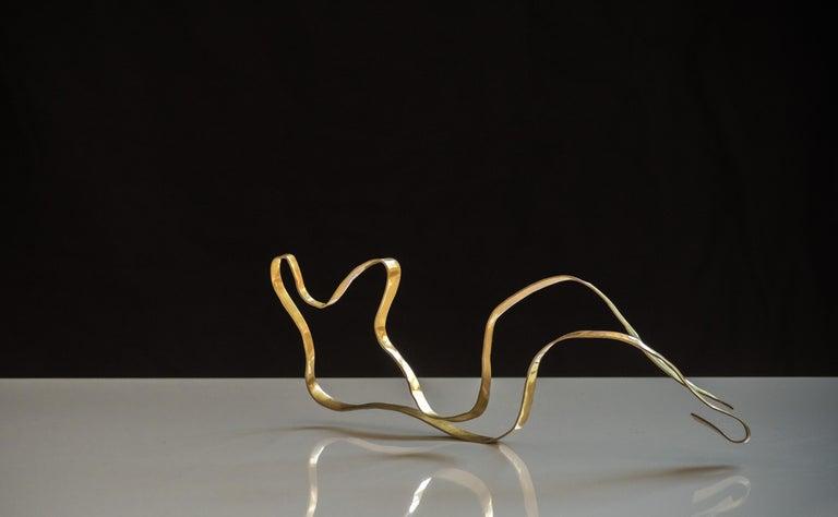 Sculpture in brass