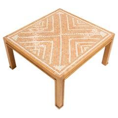 Jacques Lenoble & Jacques Adnet, Ceramic Top Table, c. 1940