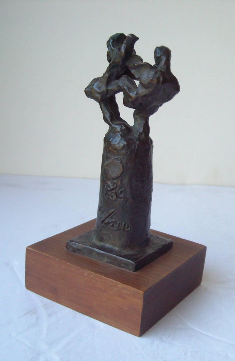 Very nice, original, piece of work by the well known artist Jacques Lipchitz. Titled and numbered 108/210 ,signed initials and finger print. As shown. This piece seems to be created in the 1960s? Maybe in some stages to completion of the whole