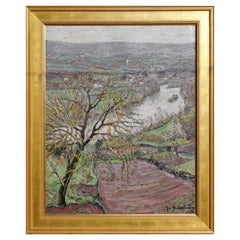 Jacques Martin Ferrieres 'French 1893-1972' Landscape