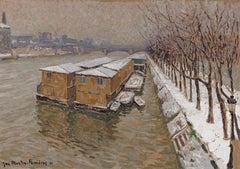 Piscine Deligny on the River Seine