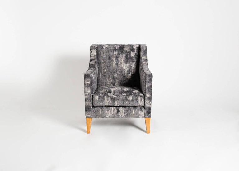 Mid-Century Modern Jacques Quinet, Pair of Armchairs, France, Mid-20th Century For Sale