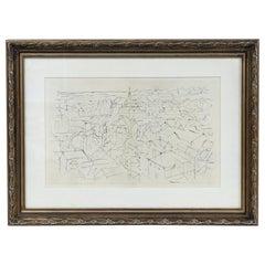 Jacques Villon Cityscape Lithograph