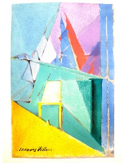 Jacques Villon - Composition - Lithograph Reproduction