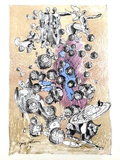 Jacques Villon - Dance of the Universe - Original Lithograph
