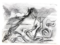 Jacques Villon - Surreal Cubism - Original Etching