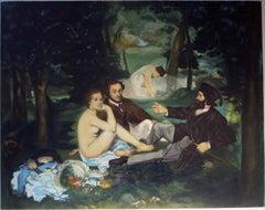 Le Déjeuner sur l'herbe  after Edouard Manet
