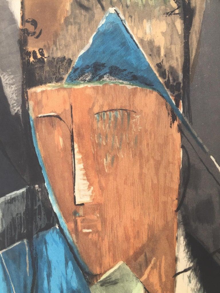 PORTRAIT d'HOMME (after Jean Crotti) For Sale 3