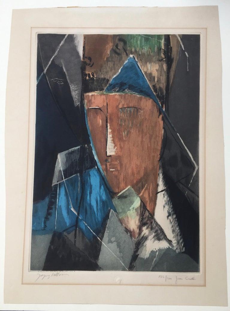 PORTRAIT d'HOMME (after Jean Crotti) For Sale 4