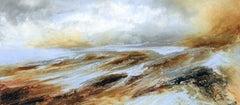 Jacqui Bassett, Bright Estuary, Original abstract painting