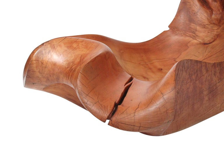 Wood Jacquin Smolens Carved Chaise Lounge For Sale