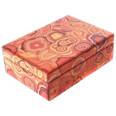 Jacy Box in Orange Ceramic by Curatedkravet