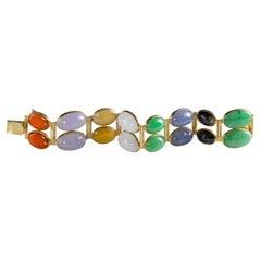 14k Gold Modern Bracelets