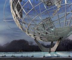 "New York 1964 World's Fair, ""Peace Through Understanding,"" Unisphere 30""x38"""